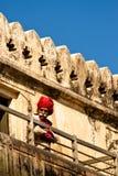 Garde de fort d'Amer, Jaipur, Inde Photos stock