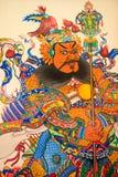 Garde de porte et Dieu de la mer dans le temple chinois Photographie stock libre de droits