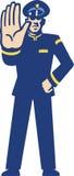 Garde de sécurité Illustration Libre de Droits