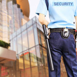 Garde de sécurité Photographie stock libre de droits
