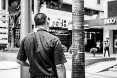Garde de sécurité Images libres de droits