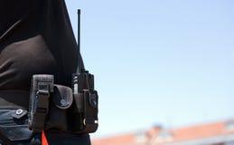 Garde de sécurité de surveillance Photographie stock