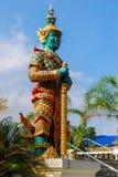 Garde de temple de la Thaïlande de géant Photos stock