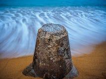 Garde Duty sur la plage Images libres de droits