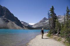 Garde forestière sur le lac de proue Photo libre de droits