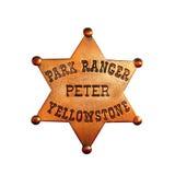 Garde forestier Badge Photographie stock