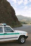Garde forestier de stationnement photographie stock libre de droits