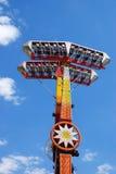 Garde forestier et Luna Park Photo stock