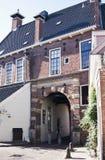 Garde Gate à Groningue, Pays-Bas Photos libres de droits