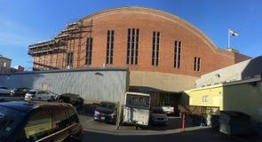 Garde nationale historique Armory du ` s de San Francisco et arsenal, côté sud images libres de droits