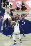 Garde Rawle Alkins Sets Up de l'Arizona un jeu Photos libres de droits