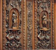 Garde-robe antique Photos stock