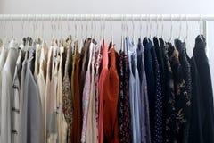 Garde-robe color?e photo stock