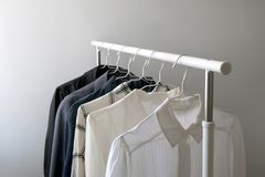 Garde-robe de capsule photographie stock libre de droits