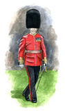 Garde royale de l'Angleterre illustration libre de droits