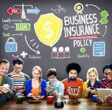 Garde Safety Security Concept de politique d'assurance commerciale Photographie stock libre de droits