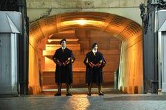 Garde suisse de Vatican Photo libre de droits