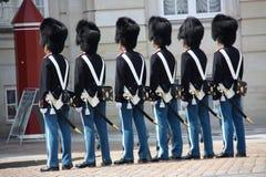 Garde uniformado Imagenes de archivo
