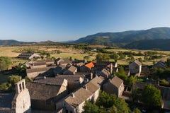 GardeGuerin,法国村庄  免版税库存图片