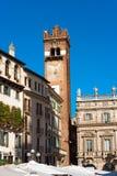 Gardello Tower - Verona Italy Stock Images