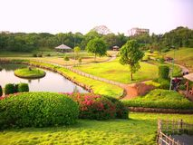 The garden. Situated in india Royalty Free Stock Image