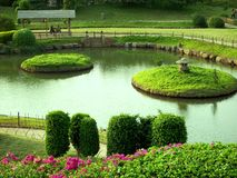 p l deshpande  garden 2 Royalty Free Stock Image