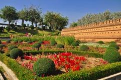 The Garden. Chiangmai Garden at Chiangmai, Thailand Royalty Free Stock Images
