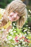 In garden Stock Photos