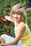 In garden Stock Photography