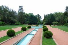Garden. The garden of a luxury Portuguese house Royalty Free Stock Photos
