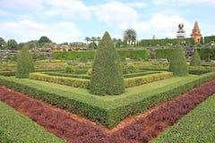 Garden. At Nong Nooch  Pattaya , Thailand Stock Image