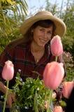 In The Garden stock image