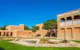 Garden at Al Ain Palace Museum Stock Photography