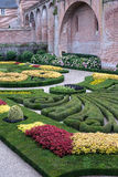 Garden at Albi Stock Photo