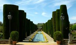 Garden Alcazar Cordoba Royalty Free Stock Images