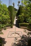 Garden of alcazar Royalty Free Stock Photography