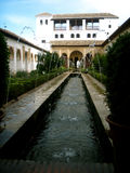 Garden of Alhambra. Granada Spain Royalty Free Stock Image
