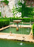 Garden of Alhambra Royalty Free Stock Photography