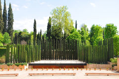 Garden of Alhambra Royalty Free Stock Image