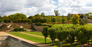 Garden of Amboise Castle Royalty Free Stock Photos