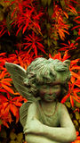 Garden angel Royalty Free Stock Images