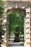 Garden arch Royalty Free Stock Photography
