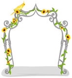 Garden arch Royalty Free Stock Image
