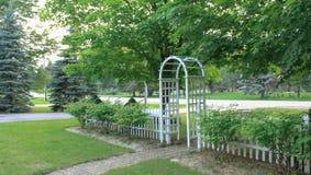 Garden Arch Stock Photos