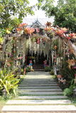 Garden arched Royalty Free Stock Photography