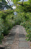 Garden Archway path Royalty Free Stock Images