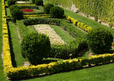 Garden  around the Castell de Montjuic Royalty Free Stock Photo