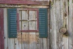 Garden Art window fence Stock Photography