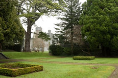 Garden of Ashford Castle, Co. Mayo - Ireland Royalty Free Stock Photography