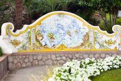 Garden of Augustus Capri, Italy Royalty Free Stock Image